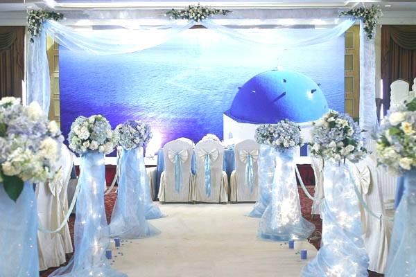 東莞婚慶公司藍色海洋主題婚禮
