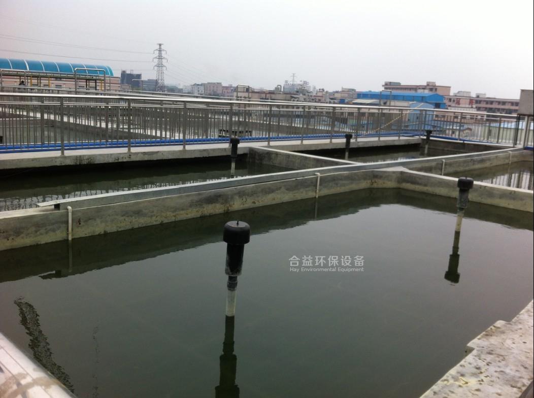 東莞市 某電鍍專業基地污水處理廠安裝工程