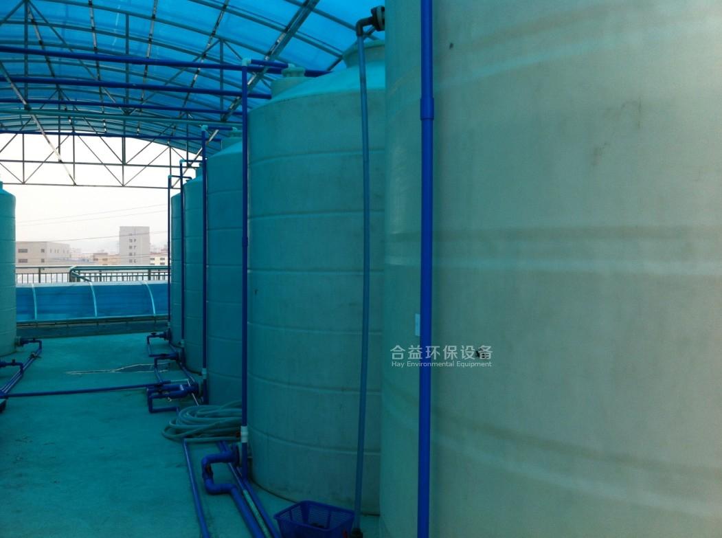 東莞某鎮電鍍集中污水處理廠處理污水量