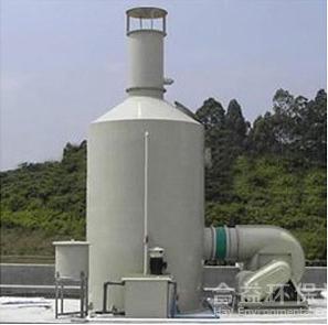 噴淋系統:PP酸霧噴淋塔