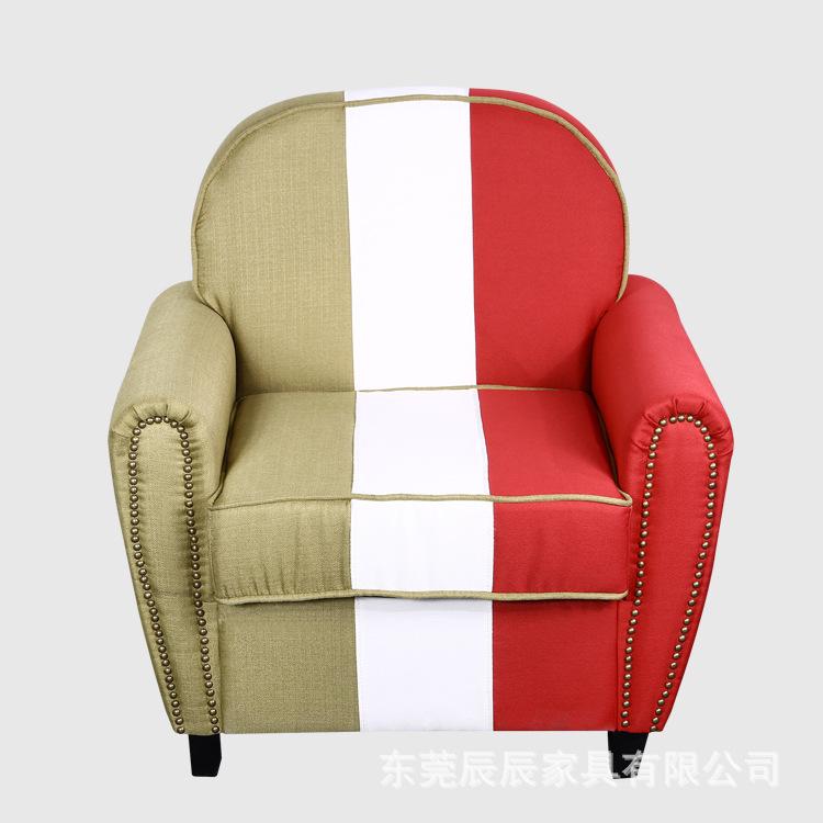 批发 客厅皮质简易沙发式椅 时尚单人沙发 简约沙发舒适懒人沙发