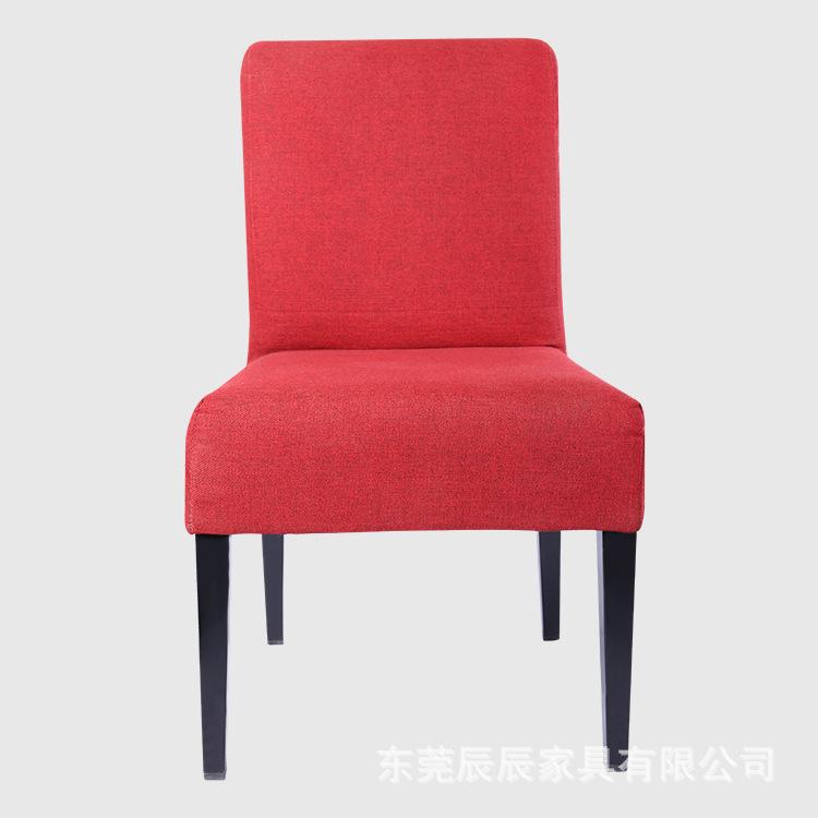 直销供应 创意咖啡店椅 布艺咖啡奶茶休闲椅 实用酒吧实木椅
