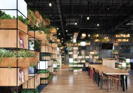 模块化咖啡厅