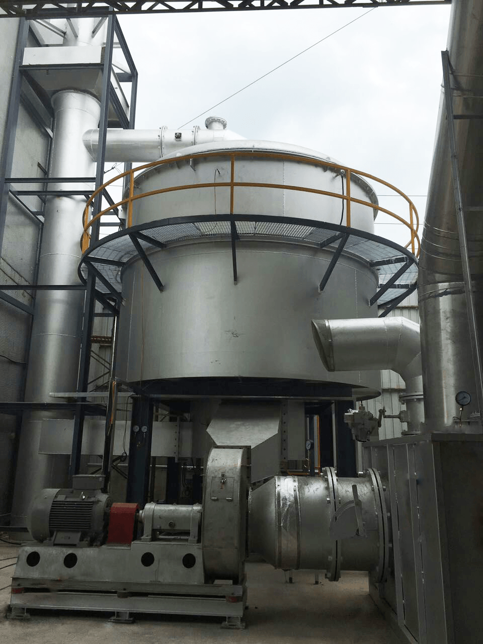 RTO蓄熱式焚燒爐--澳洲RTO焚燒爐