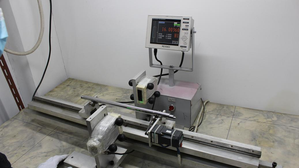 CCD micrometer