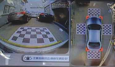 寶馬525——360度全景系統效果車型圖片