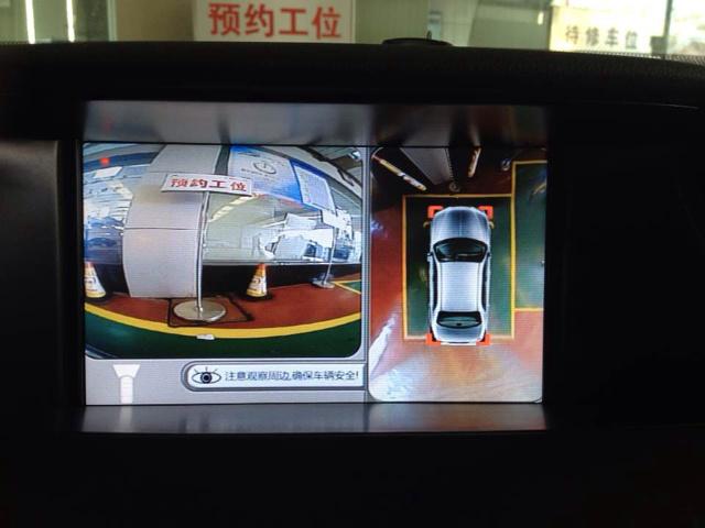 360全景倒车效果车型图片——讴歌