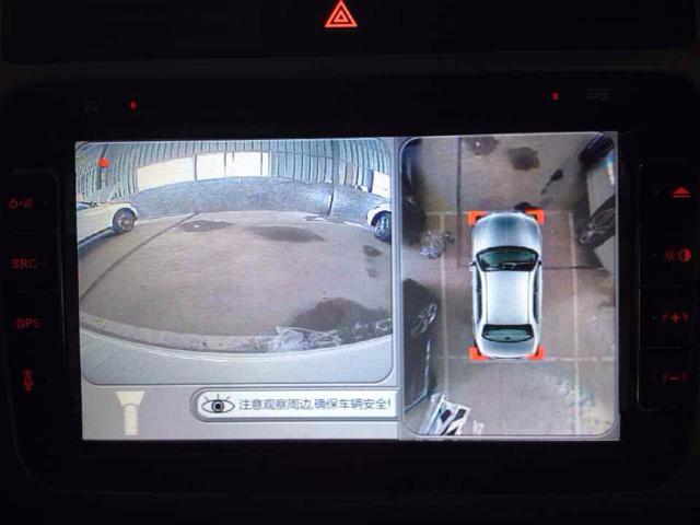 360全景倒车效果车型图片——途观
