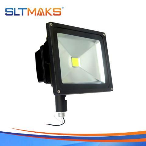 SLTMAKS High lumen DLC UL 50W LED FLOOD LIGHT With KNUCKLE