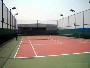 丙烯酸树脂网球场