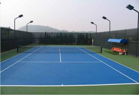 丙烯酸网球场工程图